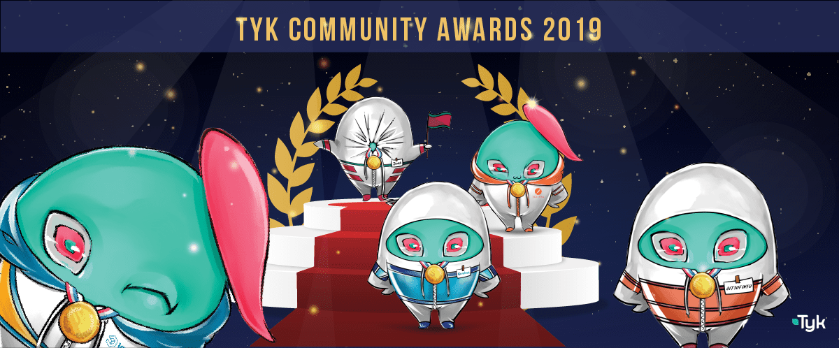 Tyk Community Awards 2019: And the winners are…